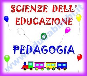 Scienze dell'educazione o pedagogie